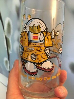 VINTAGE-1979-Burger-King-Collector-Glass-Wizard-of-Fries-_1