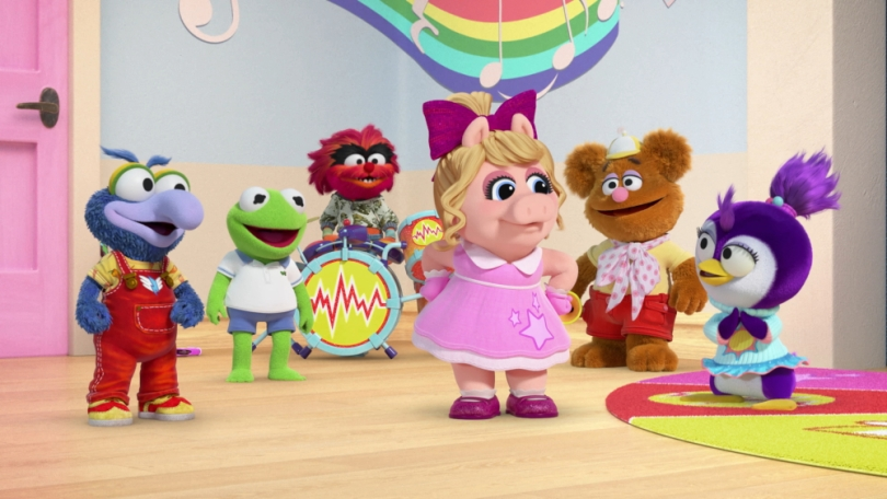 GONZO, KERMIT, ANIMAL, PIGGY, FOZZIE, SUMMER